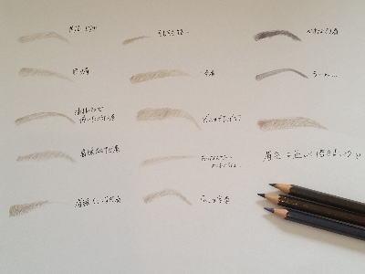 三重松阪で人気のメイクレッスン!眉毛メイク画像
