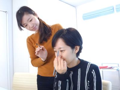 三重松阪メイクレッスンメニューベースメイクレッスン